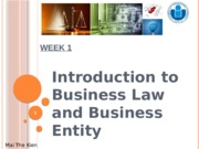 business-law-week-1