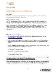Cell Structure and Function.docx
