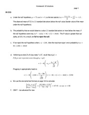 St 380 Type I Error Homework Solutions