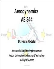 Chapter 1- Aerodynamics-some introductory thoughts .pptx