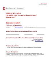 Statistics 2450 ohio state football