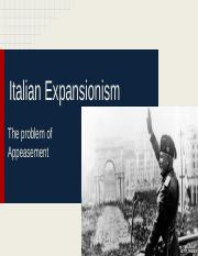 Italian Expansionism 1.pptx
