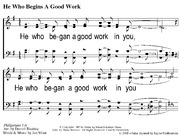 He Who Begins a Good Work-PH