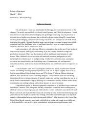 DEP Reflection essay 2 (Autosaved).docx