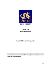 LAB MANUAL 6StandardProctorCompaction