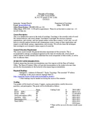 syllabus fall 2008