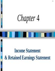 ACCT2206 - Ch 04 - Income  RE Stmt (LM) (2).ppt