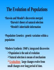2-Evolution of Populations.ppt