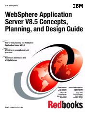 Redbook - WAS - WebSphere Application Server V8.5 Concepts, Planning, and Design Guide.pdf