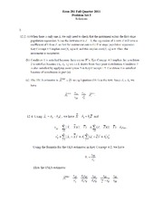 Econ 281 Spring 2012 Problem Set 5 - Solutions
