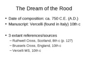 Dream of the Rood