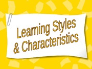 Learning Styles Intro