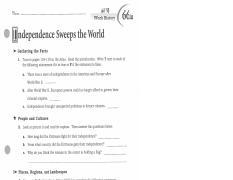Raul Sanchez Modern World Atlas Worksheets Pdf Name World