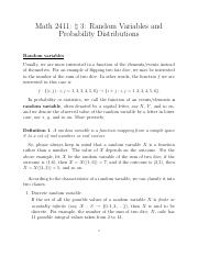 03_Random Variables and Probability Distributions