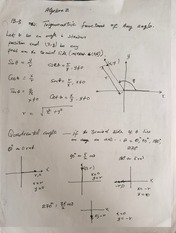 Reference Sheet for Trigonometric Functions of Any Angle