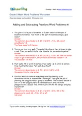 multiplying-fractions-word-problems-1-AnswersGr5 - Answer 6/1 x 2/3 ...