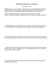 Mormon religion research paper
