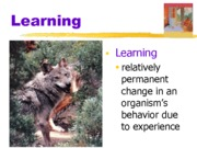 Chapter 8 Learning ppt