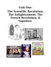 Unit One Coursepack French Revolution.docx