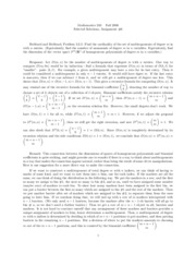 Math 250a Problem Set 6 Solutions