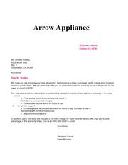 Arrow Applications Merged Assignment