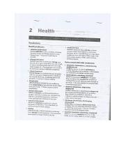 IELTS VOCAB BODY AND HEALTH