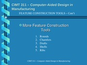Feature Construction Tools II 04