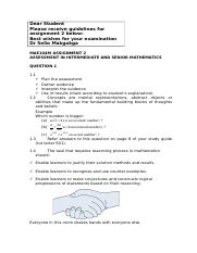 MAE104M Marking Guide.docx