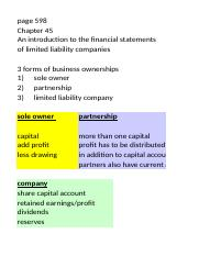 lesson 12 - financial statements of limited liability companies - part1