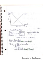 Econ 2020 Notes from 2.16.2013