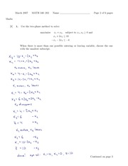 MATH 340 Fall 2007 Midterm Exam Solutions