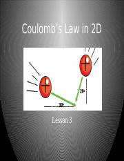 3-Coulomb___s Law in 2D