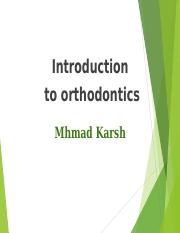 Introduction to ortho.ppt