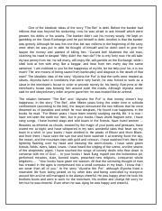 Directive process analysis essay