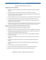 Terminology and Objectives Checklist - Digestive (Unit 28).docx