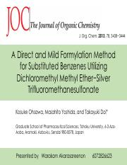 A Direct and Mild Formylation Method        for Substituted.pdf