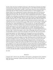 Behavior essays
