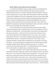comparative essay egypt and mesopotamia