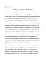 Financial benefits of colleges.docx