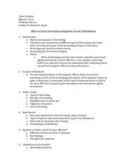 Author research paper outline