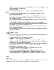 RLG 203 EXAM PREP STUDY NOTES WHOLE COURSE PG.6