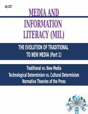 2 Evolution of traditional to new media module 2.ppt