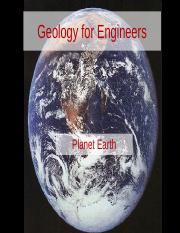 3A8 Week 01 Lecture 01-Planet Earth.ppt