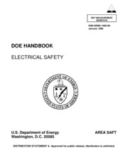 Handbook Electrical Safety, Doe Hand Book, Us departement of energy.pdf