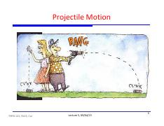 5 - Projectile Motion
