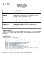 Developmental Psychology Syllabus_FALL 2016