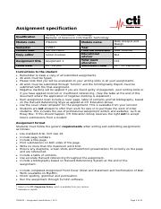 ITDA221 – Assignment – Specification (V1.0).pdf