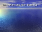 Latin PowerPoint - Forum and Buildings - Kyle Holden