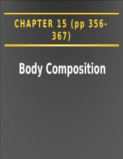Ch. 15 Body Compoostition (1)