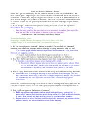 BBio 310 Midterm 1 Review Questions and Answers.docx